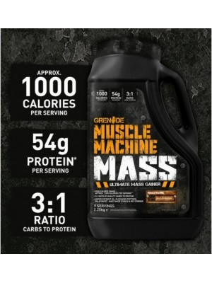 Muscle Machine® Mass гейнър