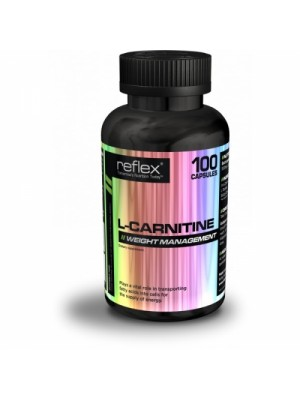 L-Carnitine Reflex, 100 капсули x 500мг