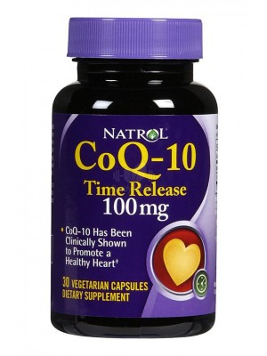 Natrol CoQ-10 Time Release 100mg